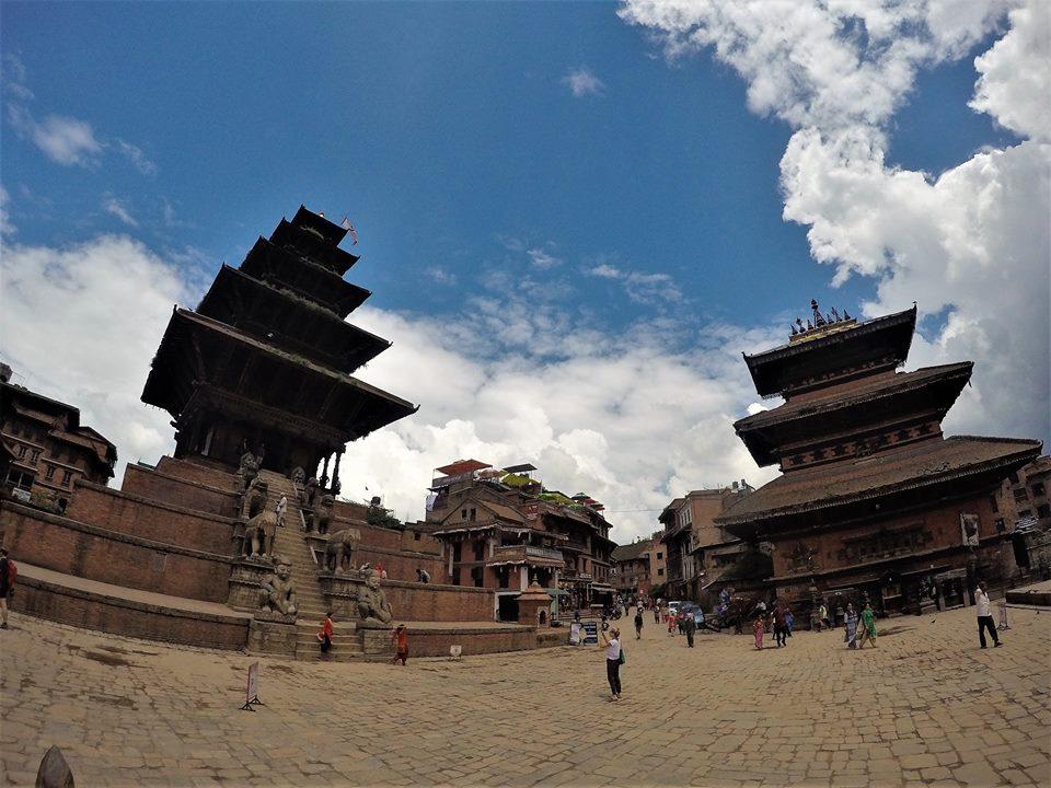 Bhaktapur, Nepal después del terremoto