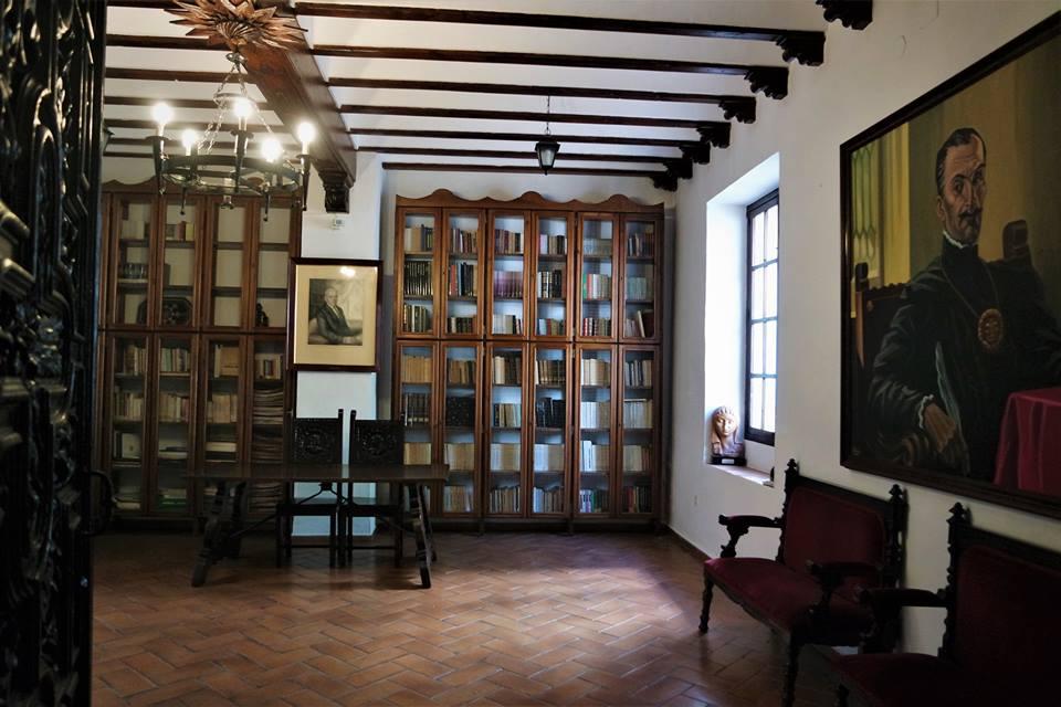 Biblioteca, casa del Inca Garcilaso