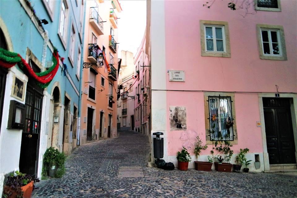 Calles de la Alfama, qué hacer en Lisboa