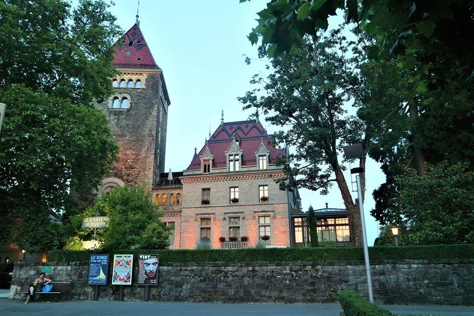 Castillo de Ouchy, Lausanne