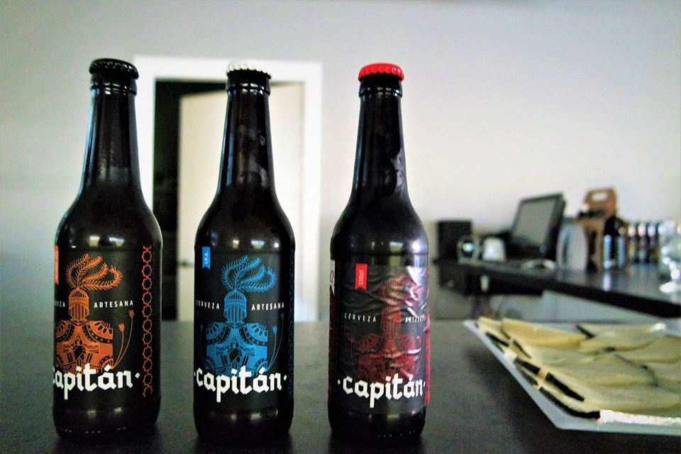 Cerveza artesanal Capitán