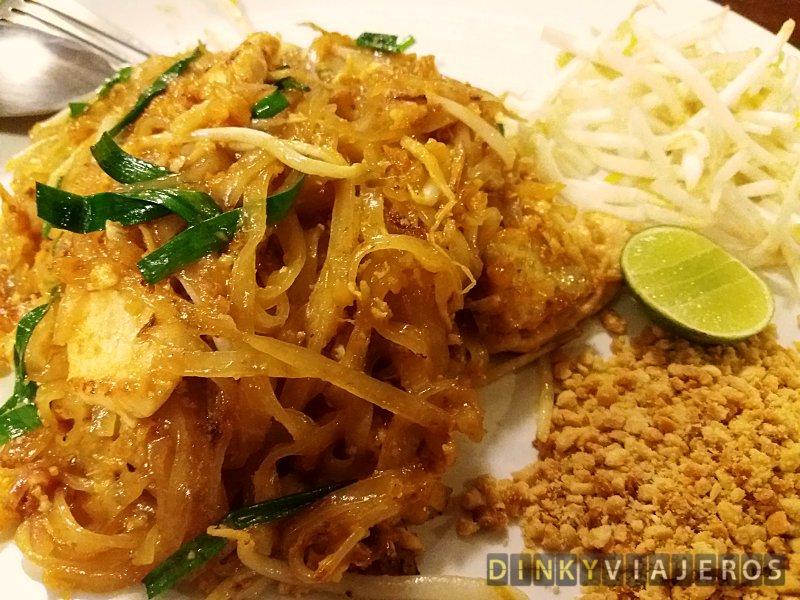 Pad Thai, Dinky Viajeros, los mejores y peores platos del mundo