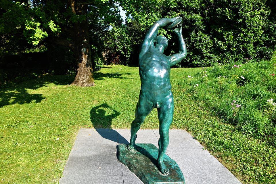 Escultura, museo Olímpico, qué ver en Lausanne