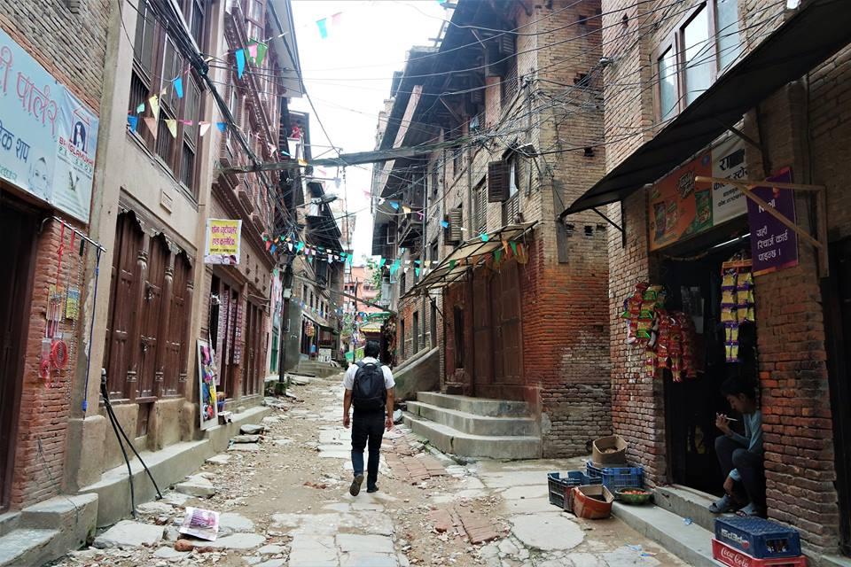 Patan, Nepal después del terremoto