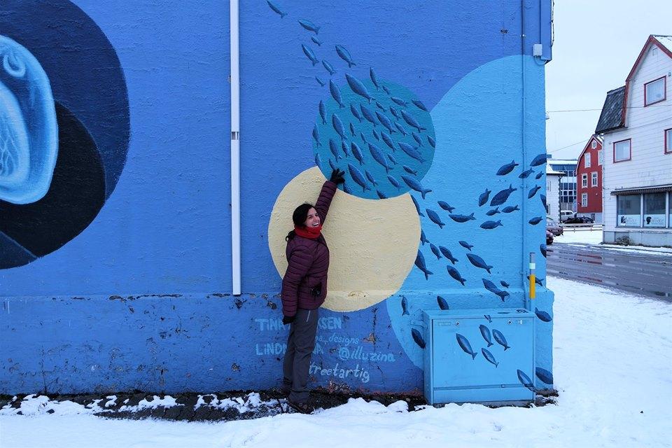 Arte urbano en Sortland, Vesteralen