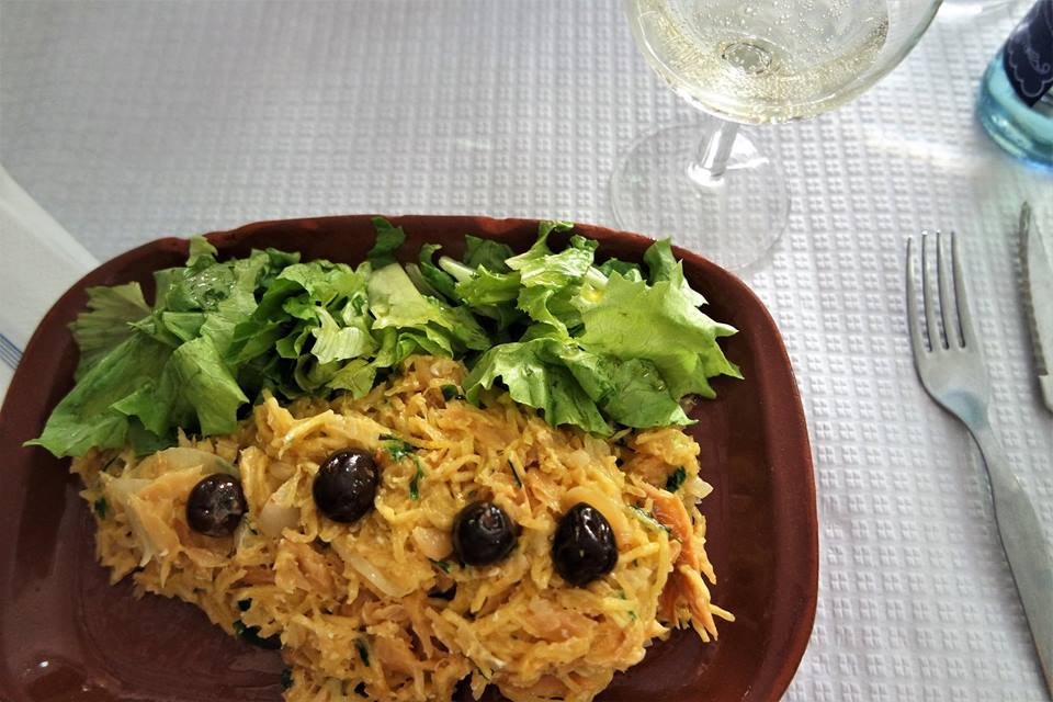Bacalao dorado, gastronomía de Portugal