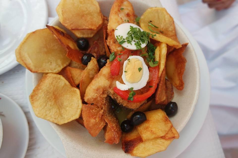 Bacalao frito, gastronomía de Portugal
