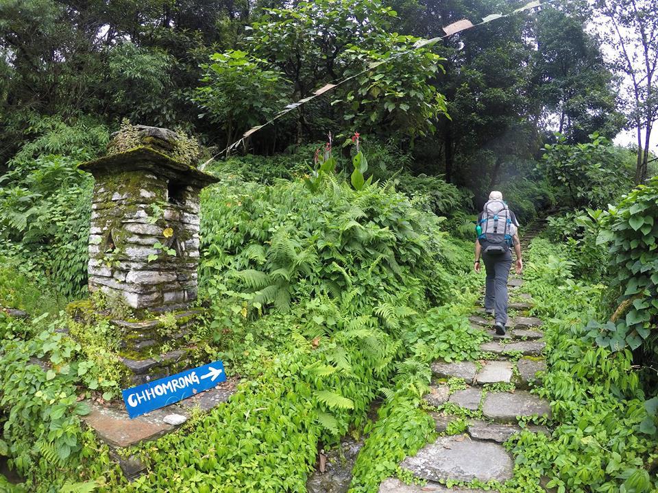 Camino a Chhomrong, Trekking al Campo Base del Annapurna