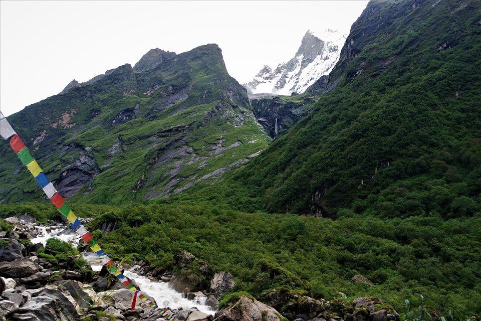 Paisajes del Himalaya, trekking al Campo Base del Annapurna