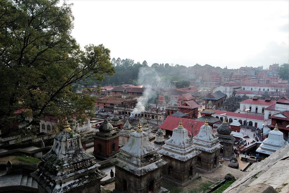 Pashupatinath, templo sagrado hindú de Katmandú