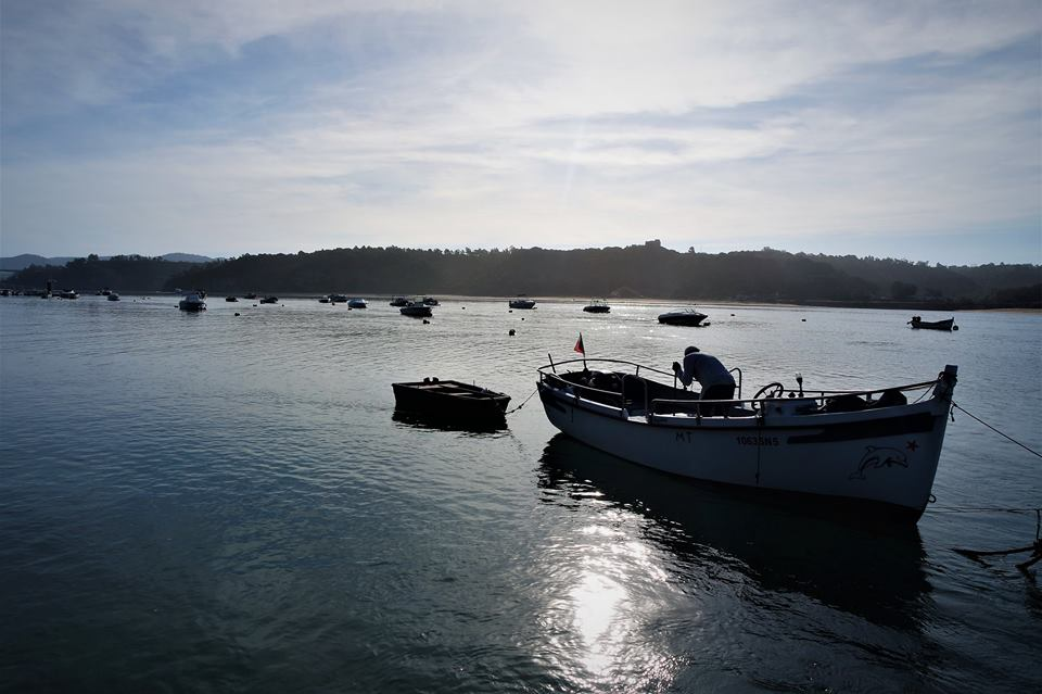 Pescador en Vila Nova, Ruta Vicentina