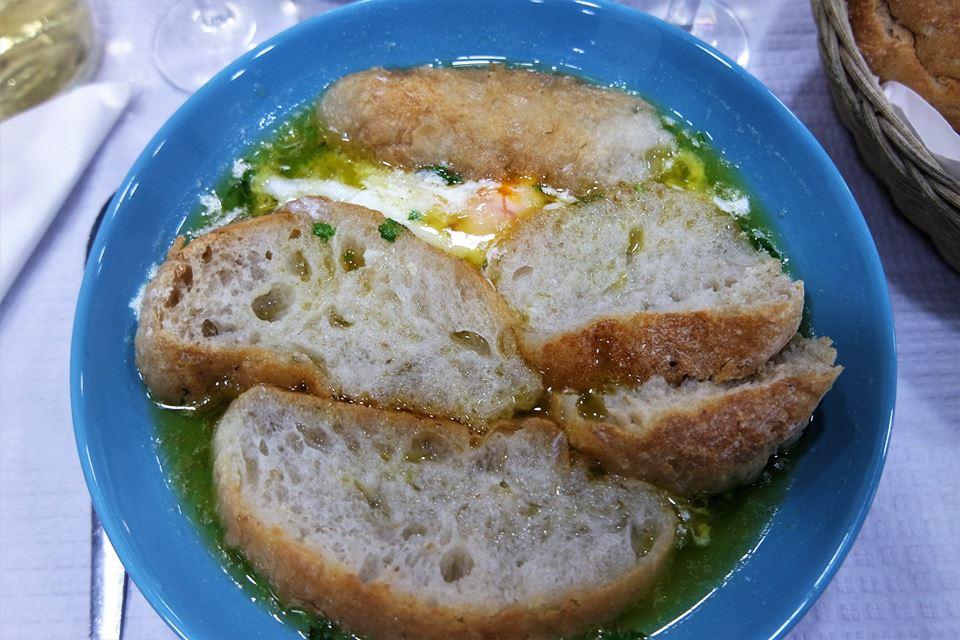 Sopa alentejana, gastronomía de Portugal