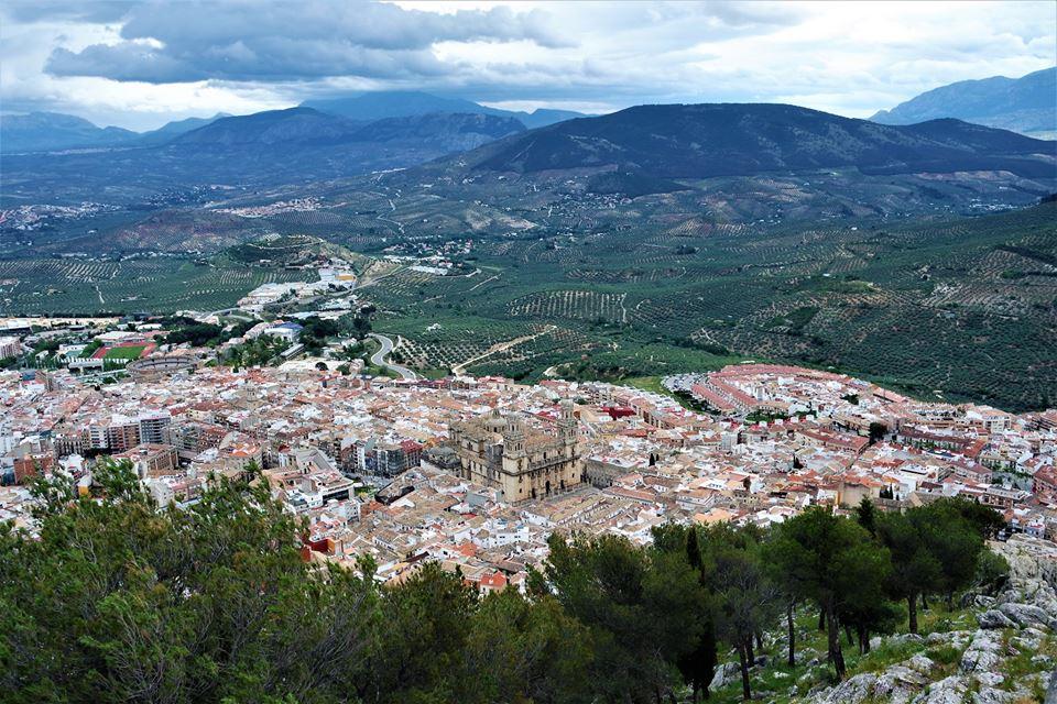 Vistas de Jaén desde el castillo
