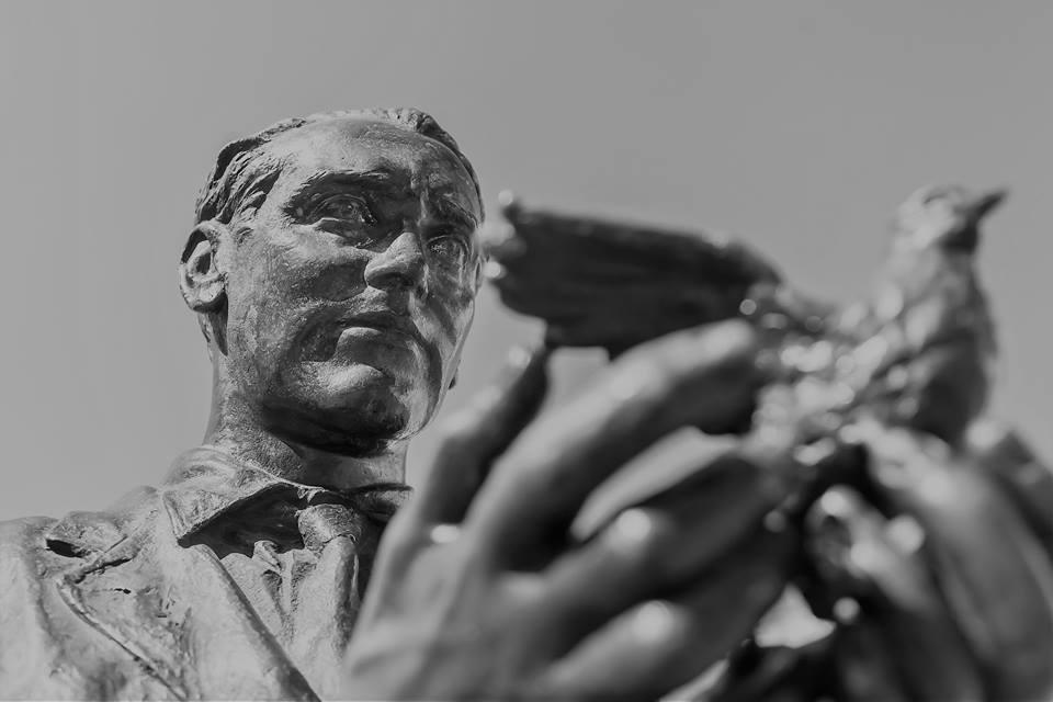Estatua de Lorca en Madrid