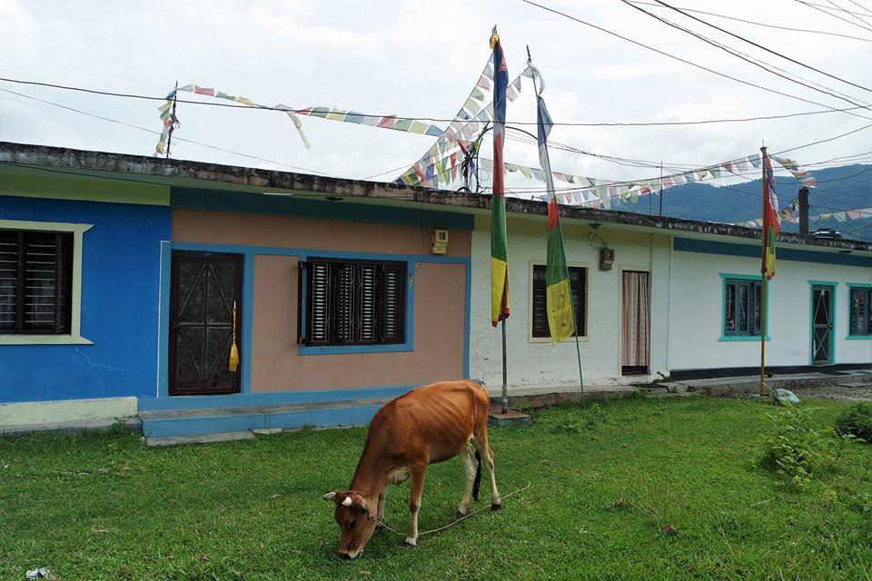 Barrio de refugiados del Tíbet