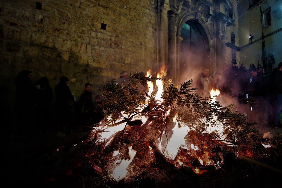 Lumbres de San Anton en Jaén