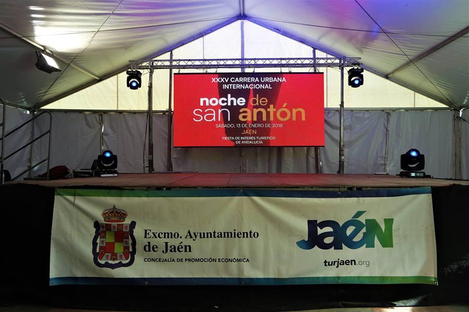 Pabellón de la carrera de San Anton