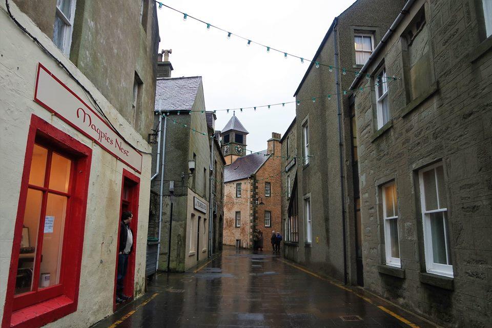 Centro histórico de Lerwick