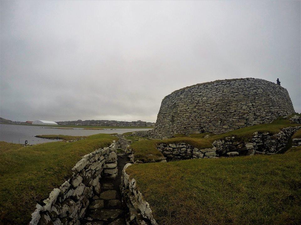 Broch of Clickimin, una granja de la Edad de Bronce