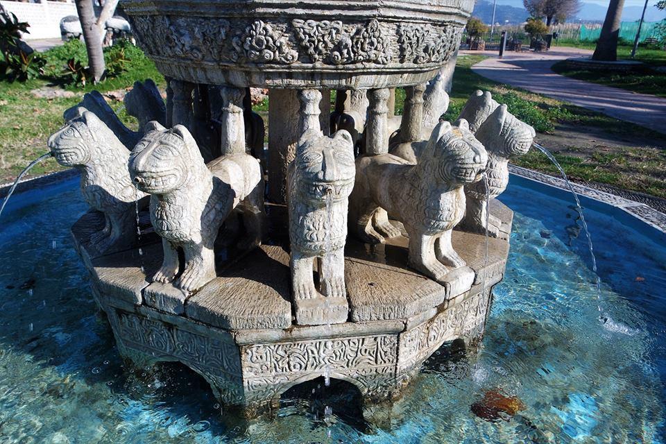 Fuente de los Leones, Salobreña