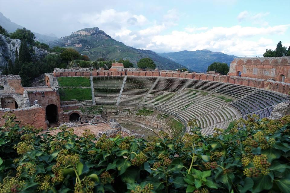 Anfiteatro grecorromano de Taormina
