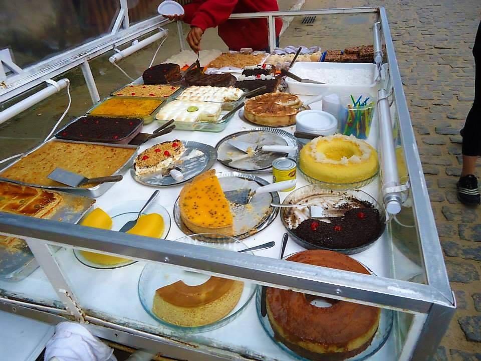 Carrito de dulces, gastronomía de Brasil