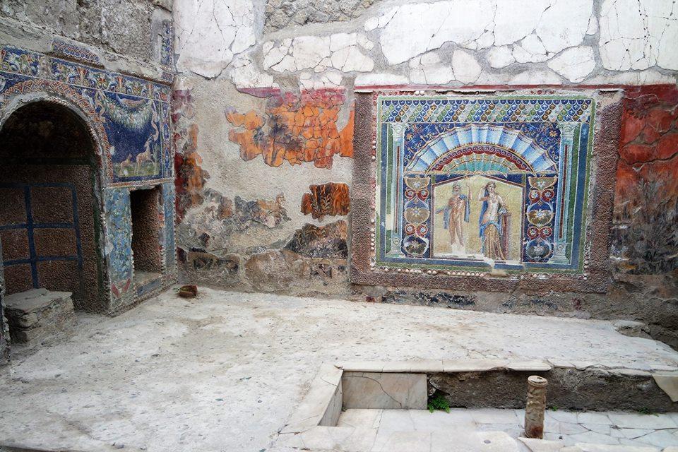 Casa de Neptuno y Anfititre en Herculano