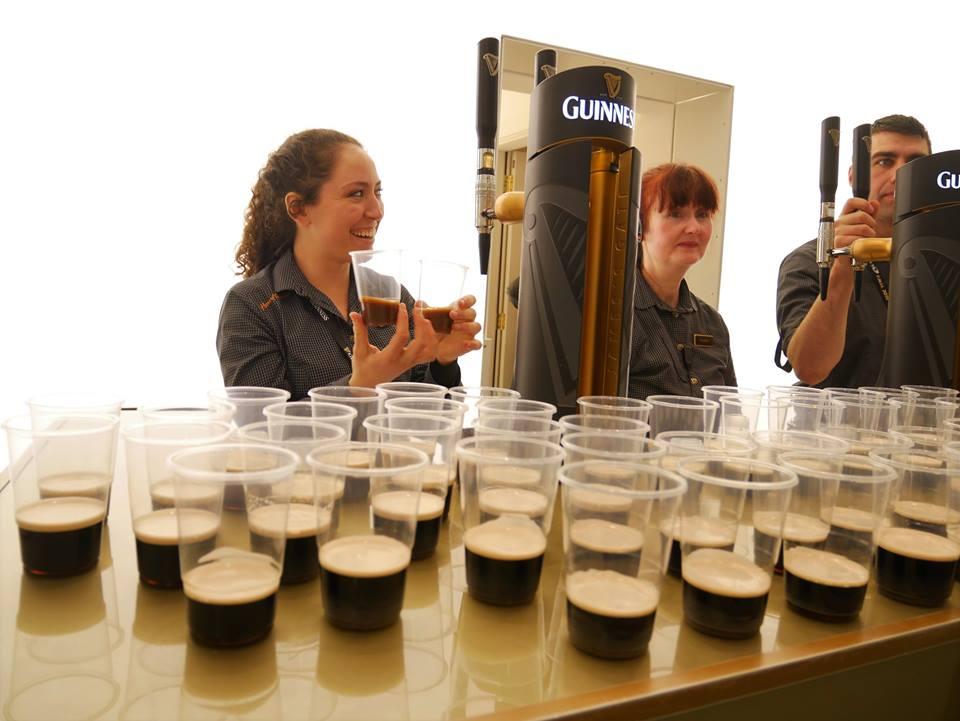 Cata de cerveza en la Guinness