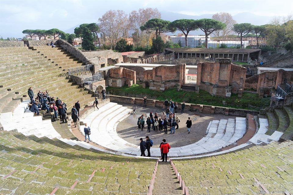 Gran Anfiteatro, Pompeya