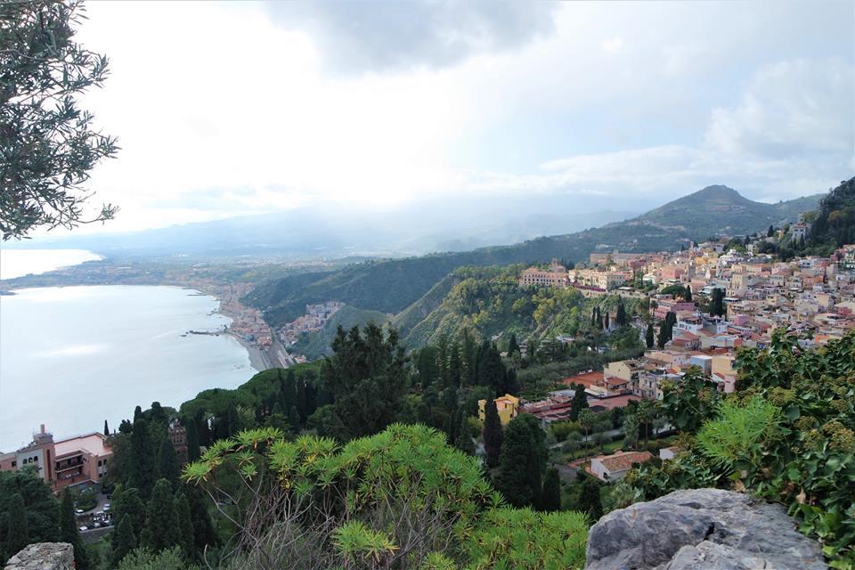 La belleza de Taormina en Sicilia