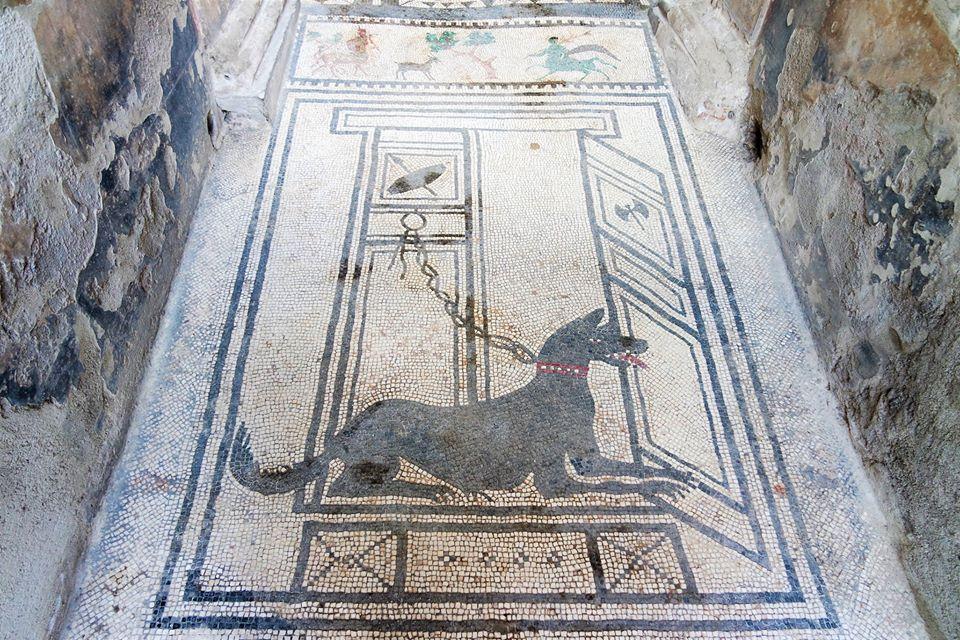 Mosaico, Pompeya