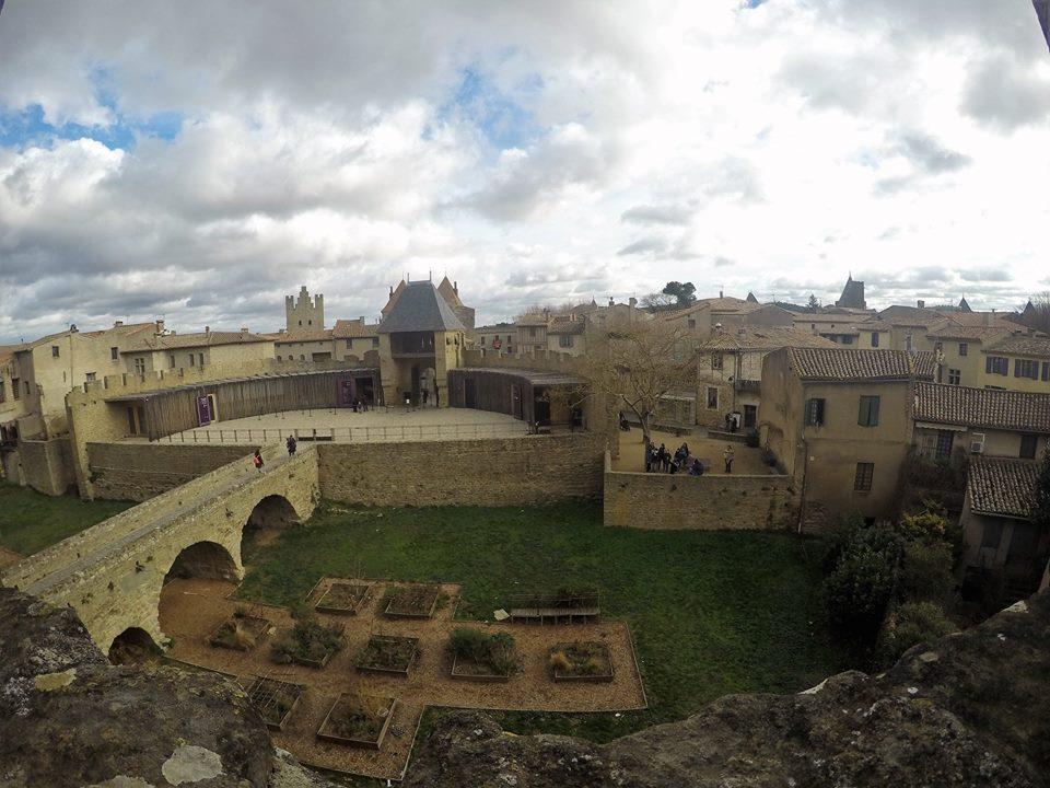 Carcassonne desde el castillo