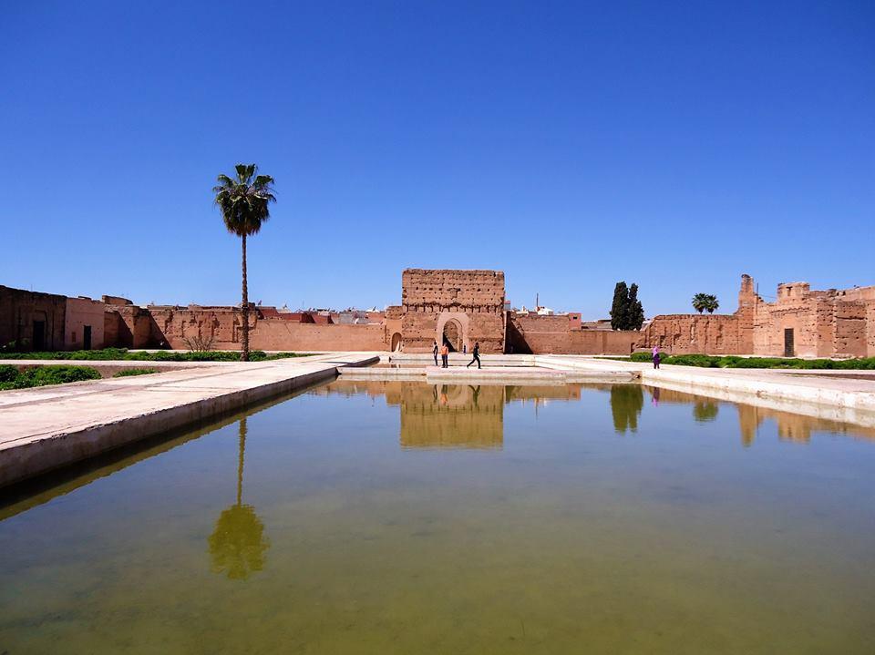 Estanque, Palacio El Badi Marrakech