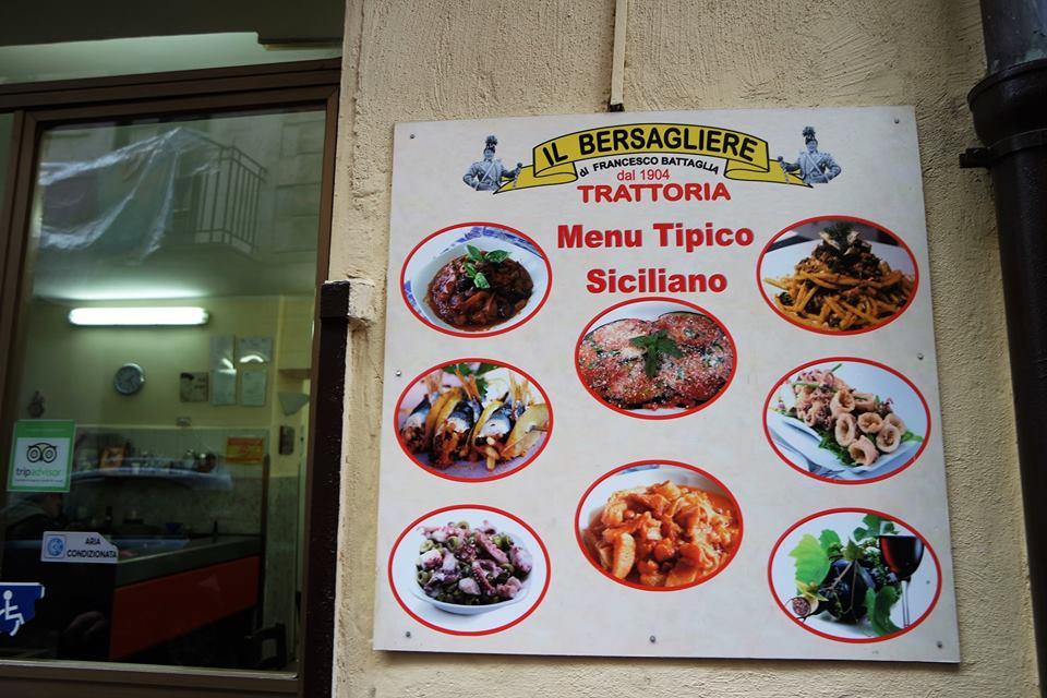 Menú Típico Siciliano en Palermo