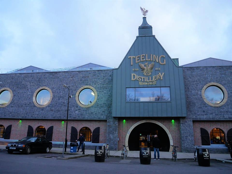 Teeling Destilería en Dublín