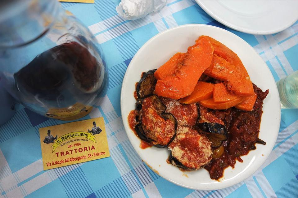 Verduras asadas, Palermo