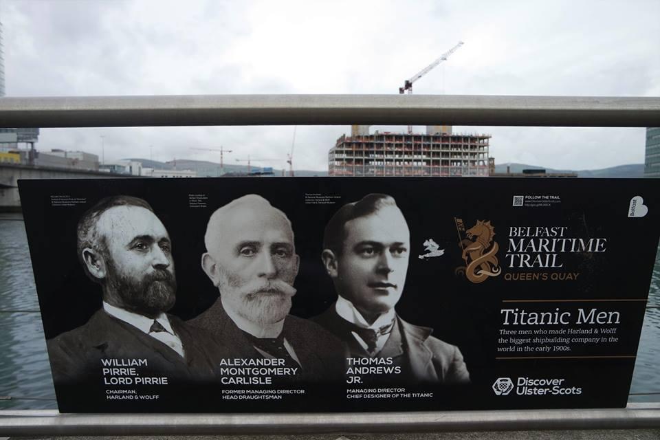 Barrio del Titanic en Belfast