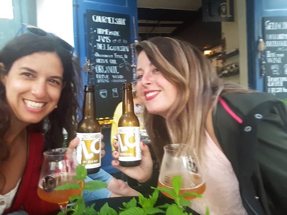 De cervezas en Rabat