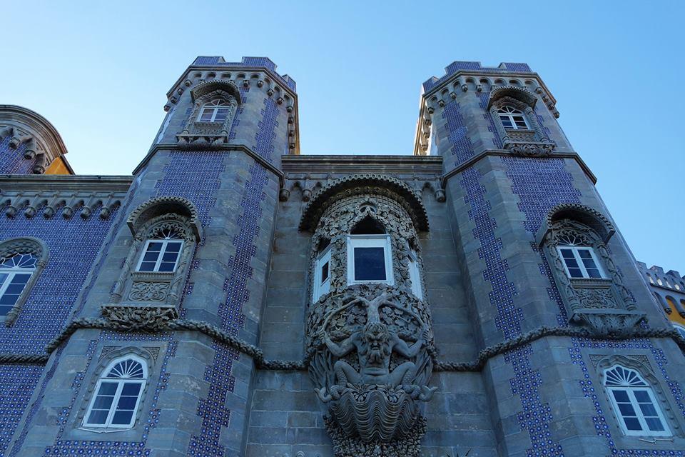 El Tritón, Palacio da Pena