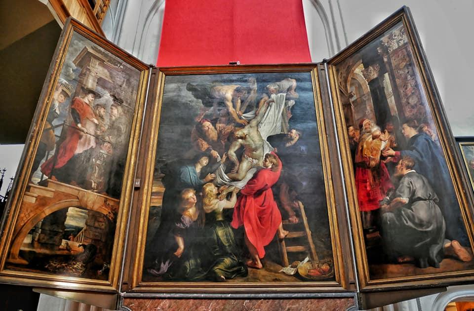 El descendimiento de la cruz, Rubens