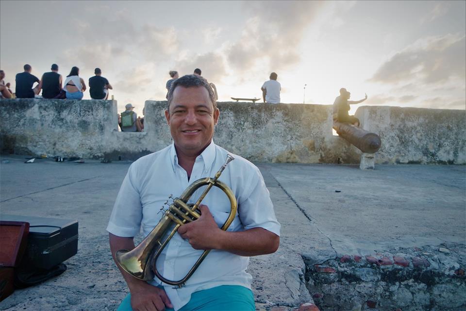Músico en Cartagena