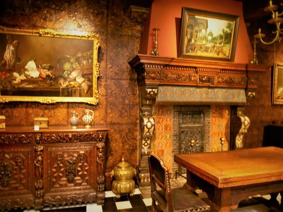Salón, Casa Museo de Rubens