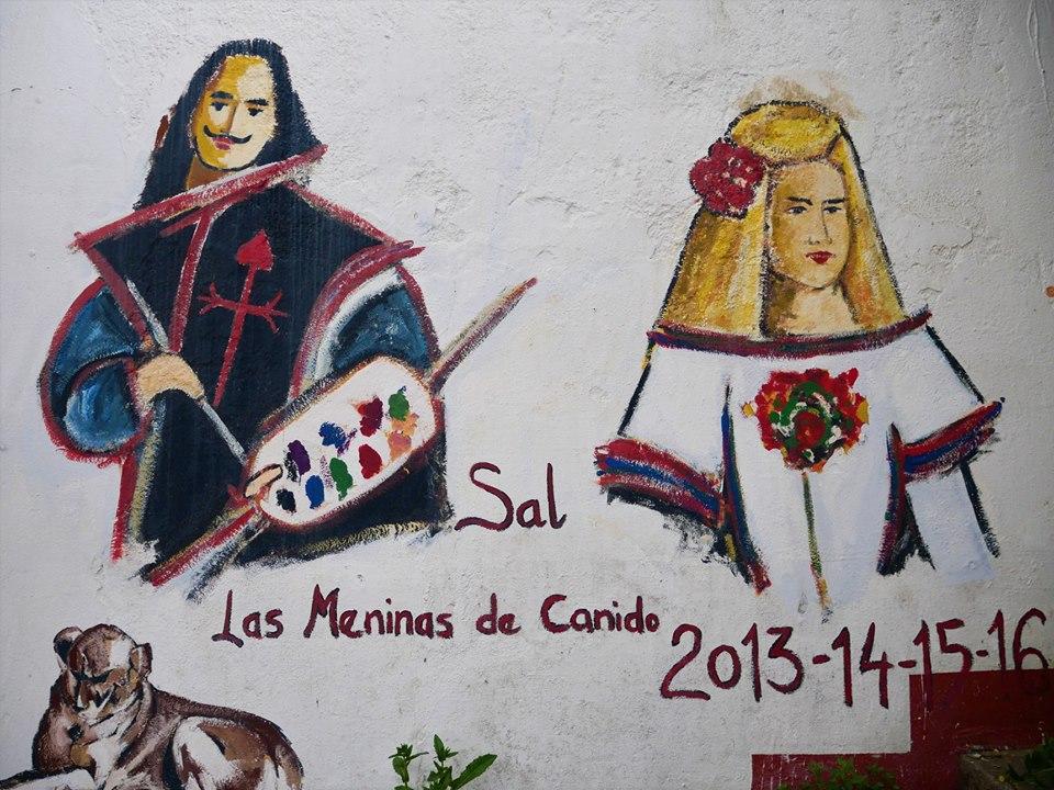 Arte de las Meninas de Canido
