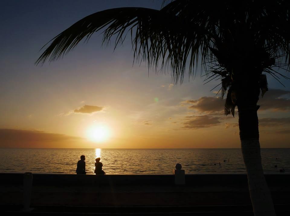 Atardecer en el Malecón de Campeche