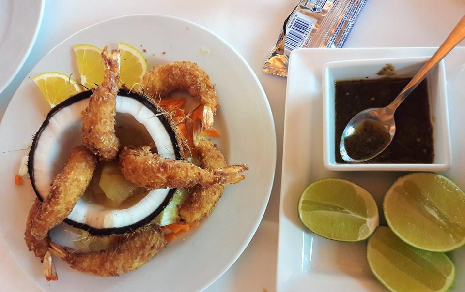 Camarones, gastronomía de Campeche