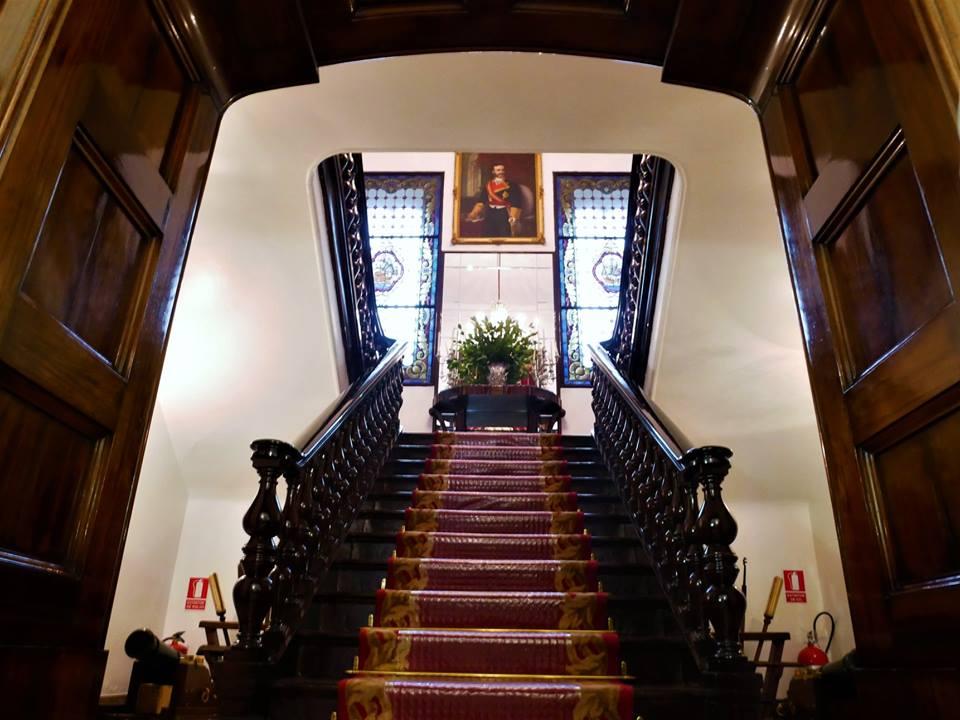 Escalera de caoba, Palacio de Capitanía Ferrol