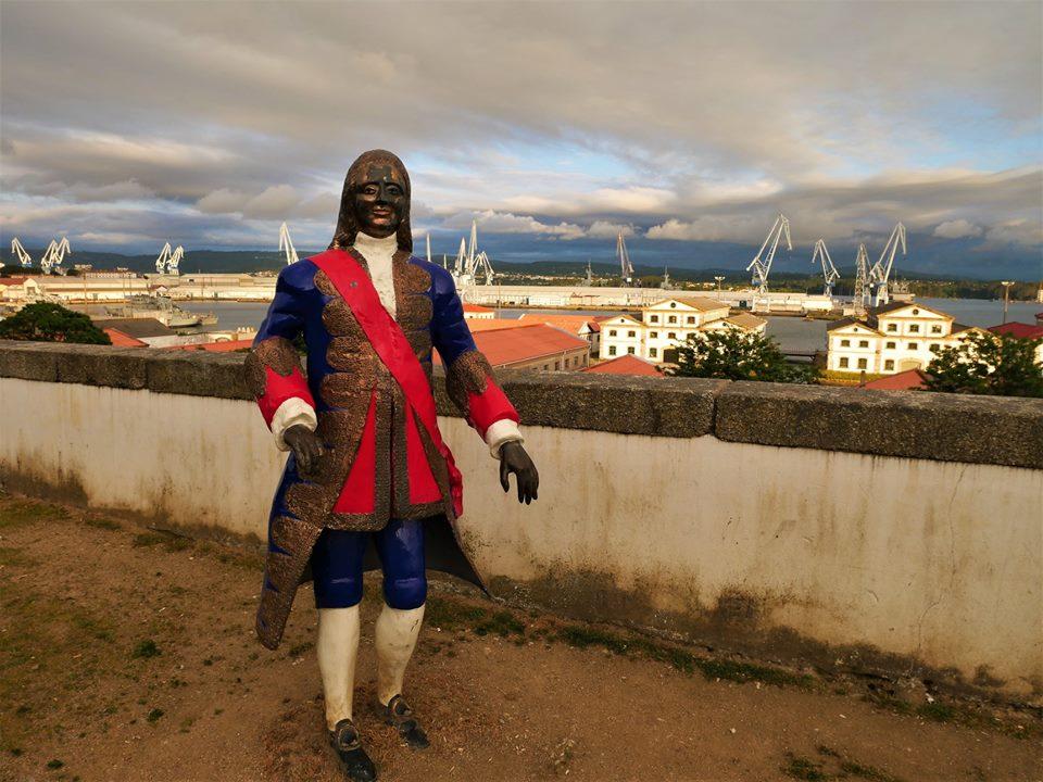 Marqués de la Ensenada, Ferrol
