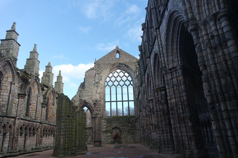 Abadía de Holyrood, Edimburgo