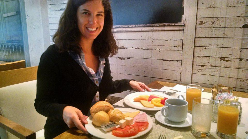 Desayuno en el hotel Panamá princess