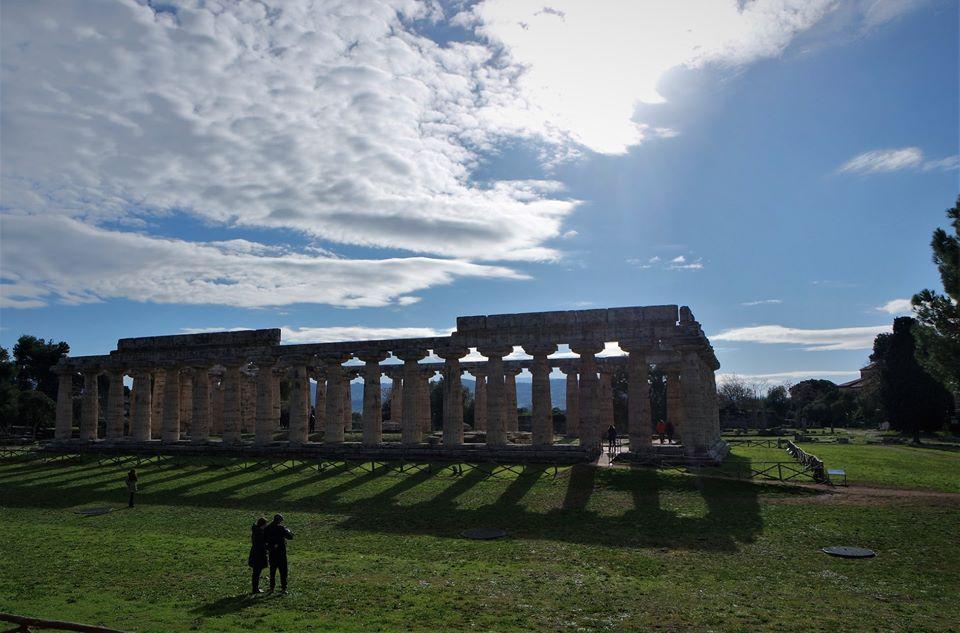 El templo de Hera, Paestum